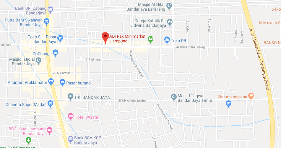 Adi rak Minimarket Lampung 2