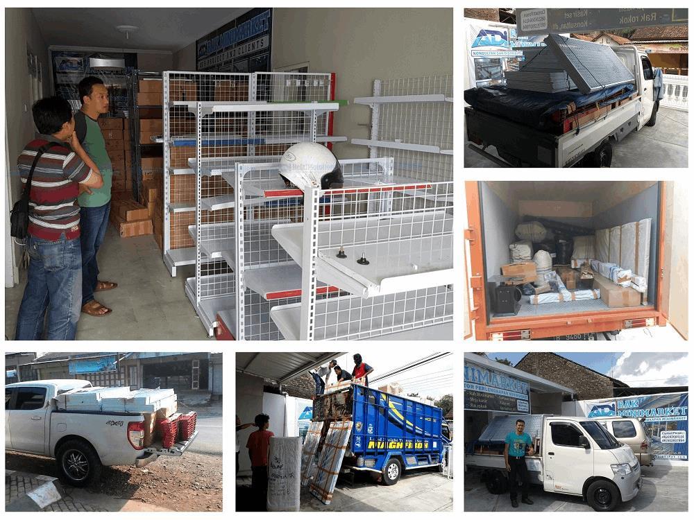 Kantor rak toko di Bandung